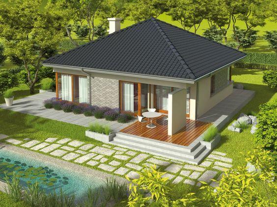 3 case de vis mici sub 100 m2 – proiecte detaliate