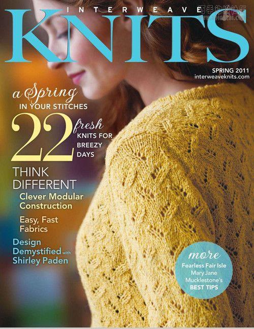 Interwave Knits 2011春季 - 轻描淡写 - 轻描淡写