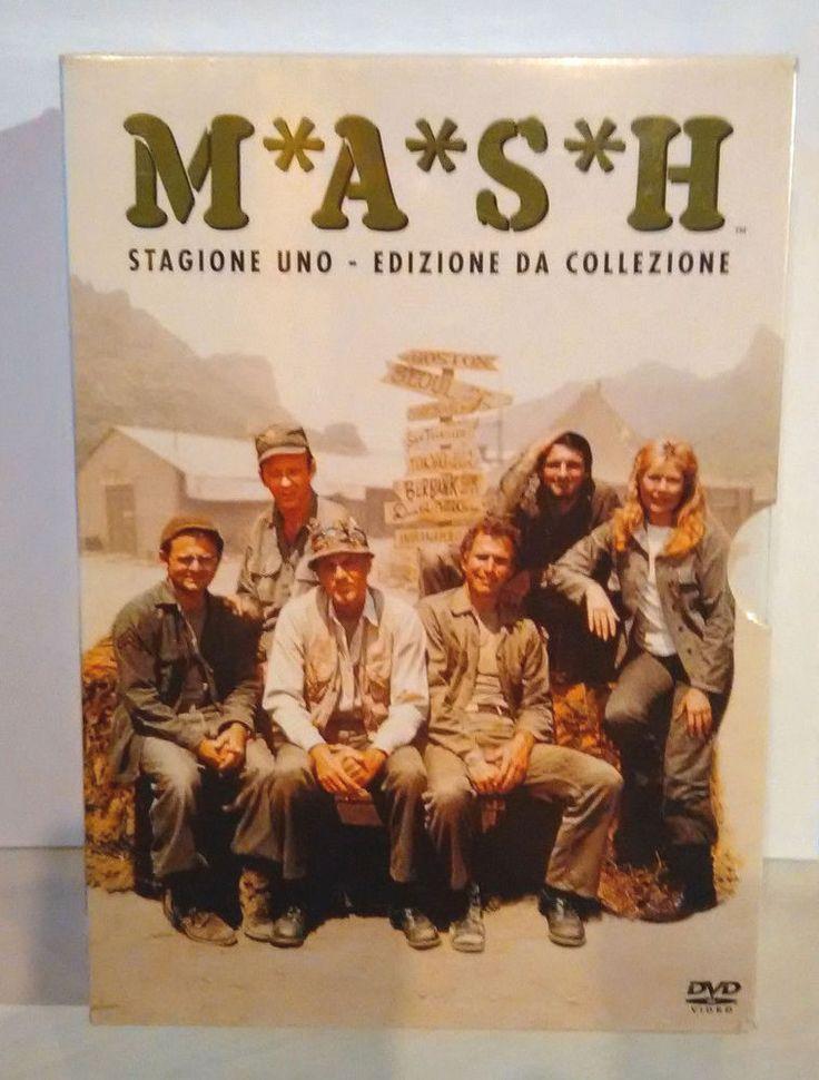 M*A*S*H* Stagione 1 Edizione da Collezione DvD T.C. FOX  (PAL) reg. 2