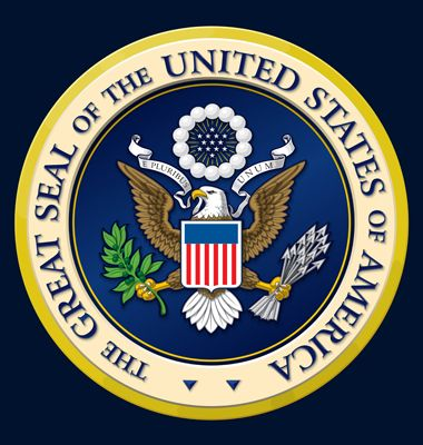 Highly detailed vector design of the official Great Seal of the United States. EPS 10 with a 25 Mpxl, Q12 JPEG preview.