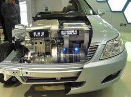В Китае появились электрические такси с возможностью смены батареи..