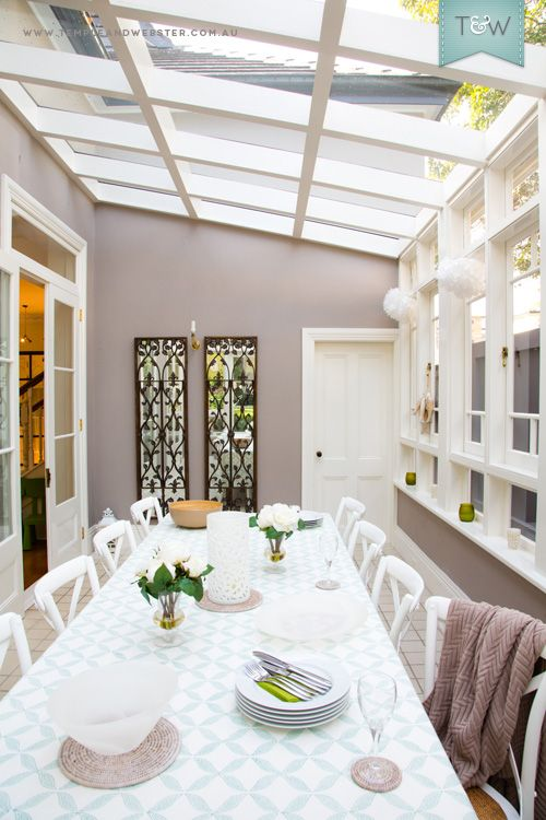 Best 25 sunroom dining ideas on pinterest family dining for Sunroom extensions sydney