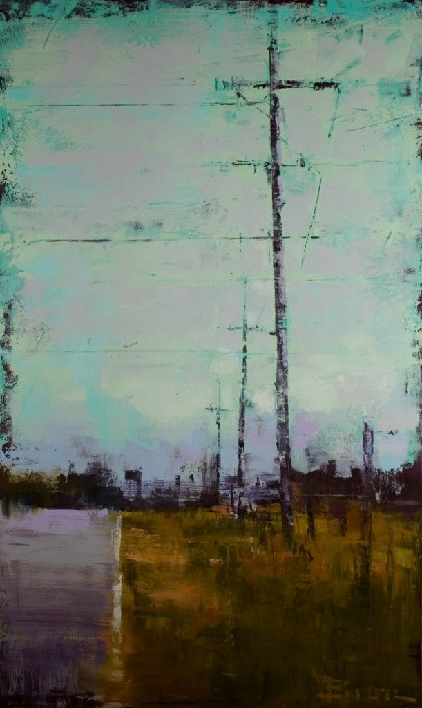 Curt Butler-Country oil and encaustic