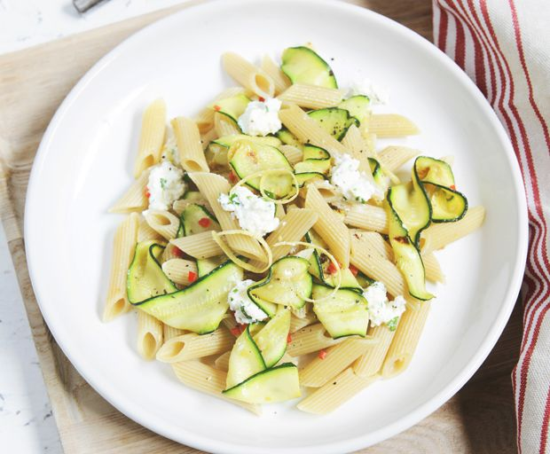 Zucchini, Chilli and Herbed Ricotta Pasta Recipe SHE'SAID' Global