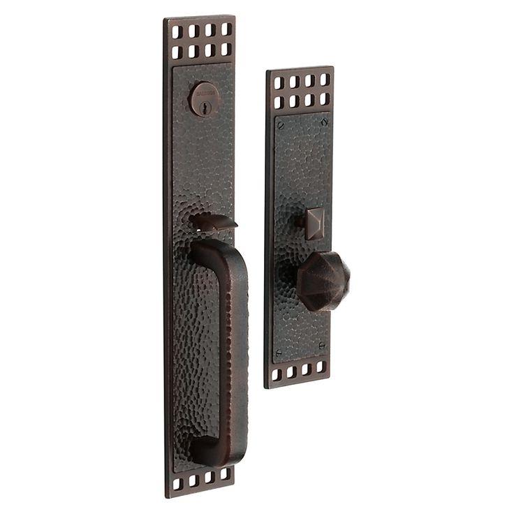 Baldwin Hardware 6944 Pasadena set Trim Front Door Handle - Knobs and Hardware