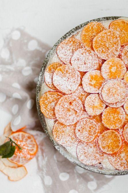 Citrus Cake ~ Pure Vegetarian by LakshmiFruit Salad Recipe, Citrus Cake Sweets, Caramel Clementine, Citrus Cakesweet, Clementine Cake Recipe, Tangy Citruscak, Citrus Fresh, Cake Sweets Tangy, Cakesweet Tangy