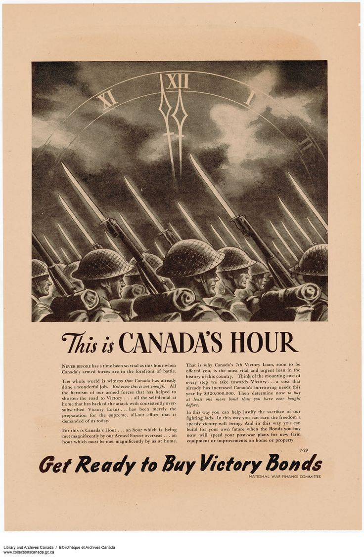 MIKAN 2847123 This Is Canada's Hour :  October 1944 [337 KB, 1000 X 1542]