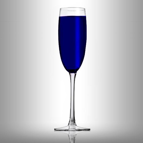 """Diamond Blue      Gin Drink    So pretty! I would love this with sugar crystals around the rim to look like """"bling"""""""