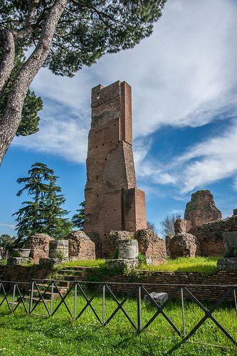 The Palatine Hill. Rome. Domus Flavia. | Flickr – Condivisione di foto!