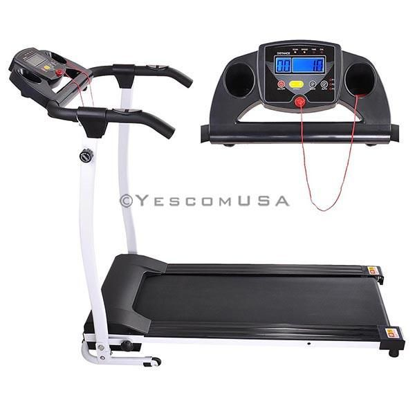 1100w Foldable Treadmill Electric Running Machine Color Opt