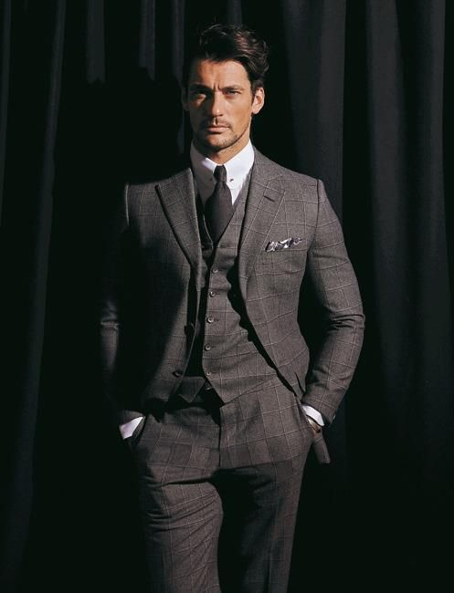 Mr Gandy impeccably dressed in Tom Ford