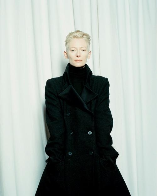 Tilda Swinton. I would like to be her when I grow up. Sigh.