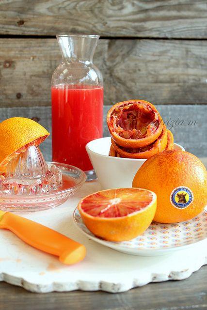Torta all'arancia glassa al rum