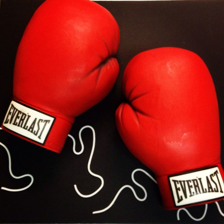 Boxing Glove Cake Decorations