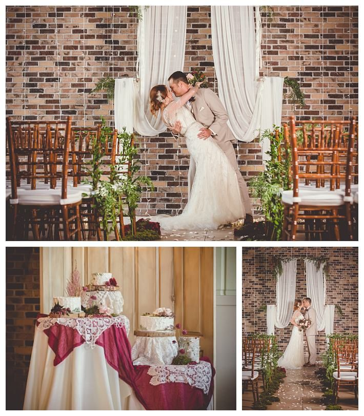 Grand View autumn wedding with bride in a dress from Jasmine Bridal   The Penelope by Jasmine Bridal   Gateway Bridal & Prom   SLC   Utah   Fall   Autumn Wedding Inspiration   Lindsey Black Photography   Gold   Woodsy   Earthy   Burgundy   Grand View Reception Center