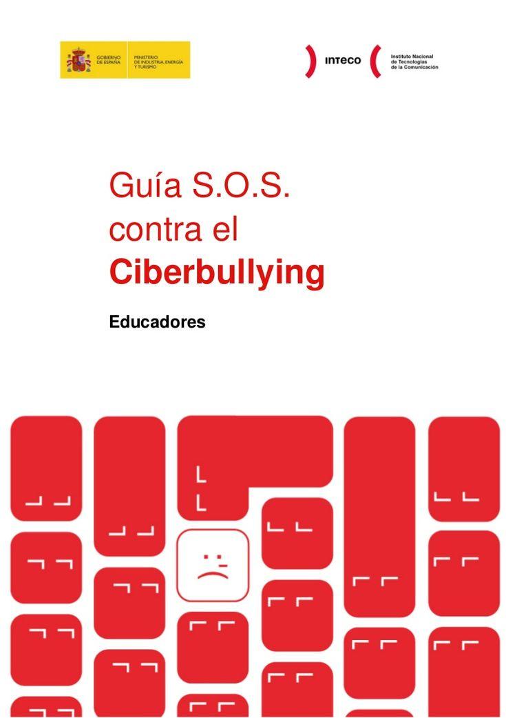 Manual #ciberbullying educadores vía @alfredovela #acosoescolar #eduhora14