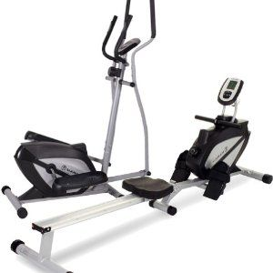 Marcy Elliptical Cross Trainer and Rowing Machine Home Gym Package by Marcy