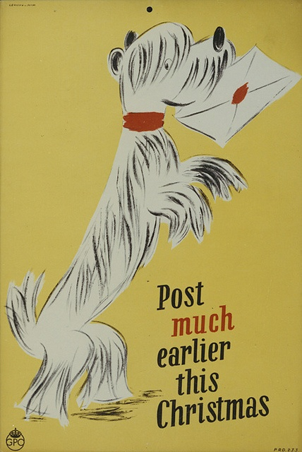 Post much earlier this Christmas by British Postal Museum & Archive, via Flickr