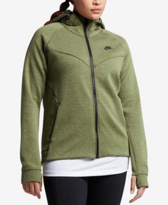 NIKE Nike Plus Size Sportswear Tech Fleece Hoodie. #nike #cloth # jackets