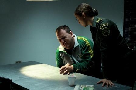 La Sargento Fanny con el Agente Wilson Tenorio