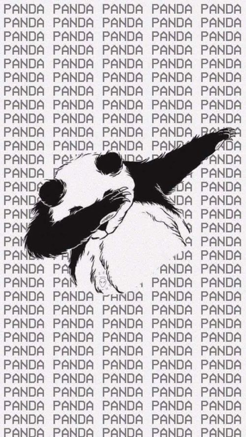Imagen de panda, wallpaper, and animal