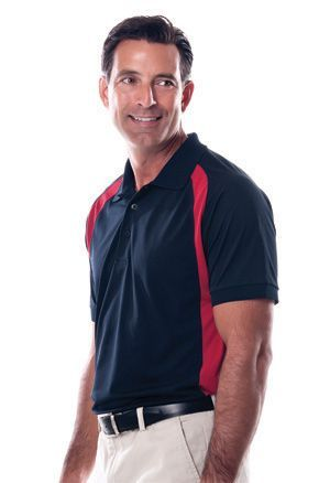 Plantation - Curved Color Block Golf Shirts. For details on how to order this item with your logo branded on it contact ww.fivetwentyfour.ca