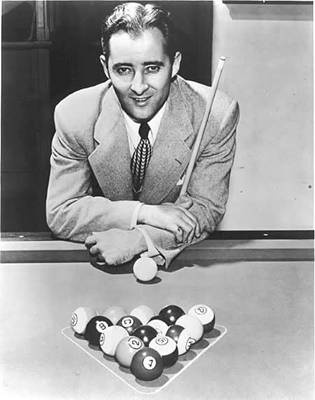 "William Joseph Mosconi, nicknamed ""Mr. Pocket Billiards"" was a American professional pocket billiards (pool) player from Philadelphia , Pennsylvania . Willie's father owned a pool hall where he wasn't allowed to play, but Willie improvised by practicing with small potatoes from his mother's kitchen and an old broomstick."