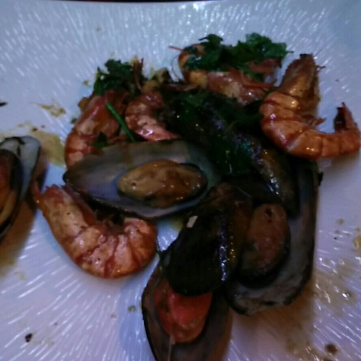 #shrimp and #mussels