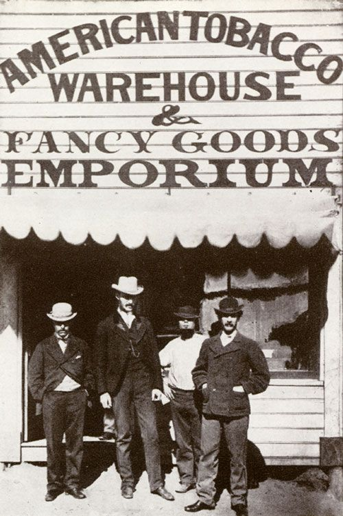 The American Tobacco Warehouse and Fancy Goods Emporium, Gulgong, NSW c 1872