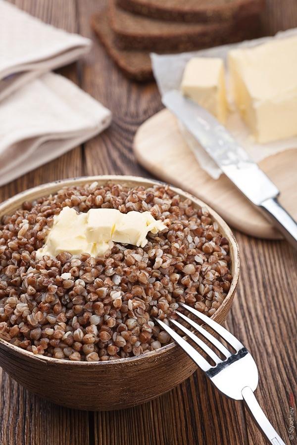 Buckwheat porridge... aka Kasha