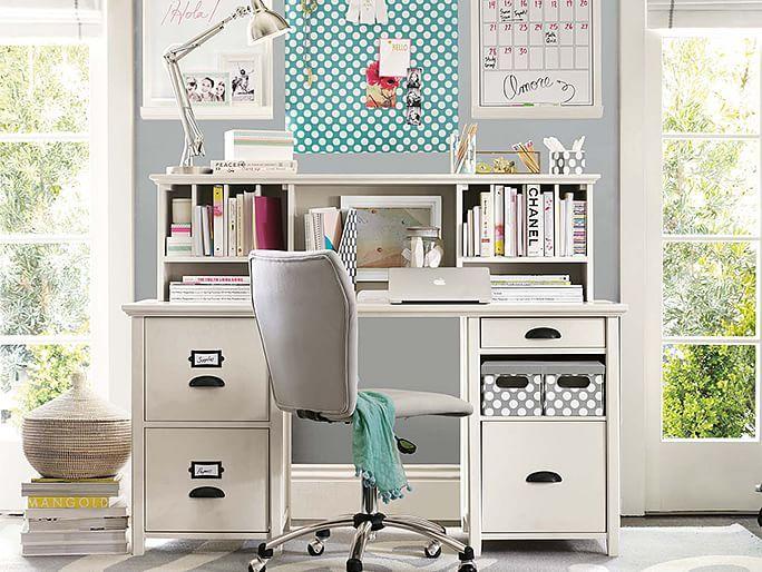 1000 images about teen bedroom desk organizing ideas on - Teenage bedroom organization ideas ...