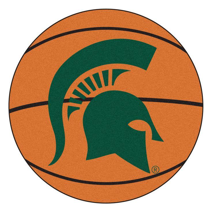 NCAA Michigan State University Basketball Mat