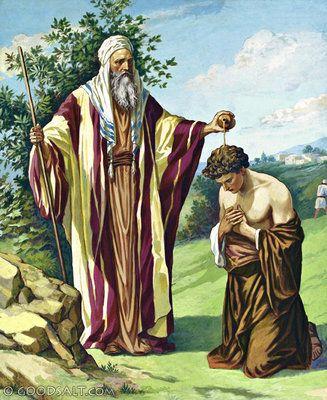 1 Samuel 10: Saul Anointed King