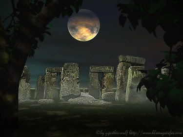 Stonehenge....I was there on the evening before Easter a few years ago. It is an awesome, magical place.