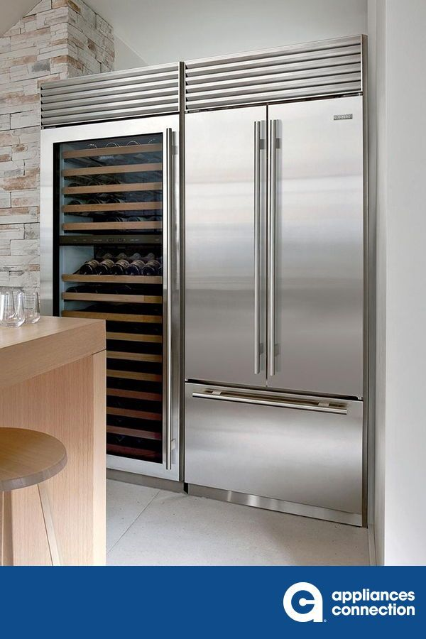 Built In French Door Refrigerator From Sub Zero Will Be The Best Addition To Your Kitchen The Discreet Interior Wa Top Appliances Sub Zero Sub Zero Appliances