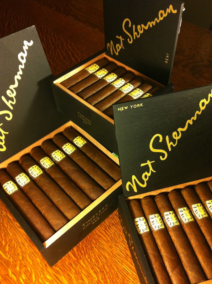The Nat Sherman Timeless Collection Cigars, Cigars and