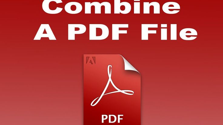 PDF Tutorial- how to Combine or Join Merge different PDF files in to one...