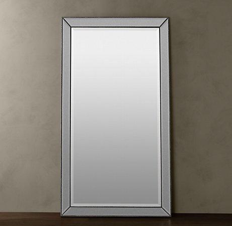 Restoration Hardware - Venetian Beaded Floor Mirror