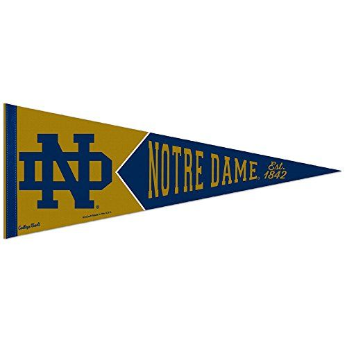 Notre Dame Fighting Irish Pennant Amazon