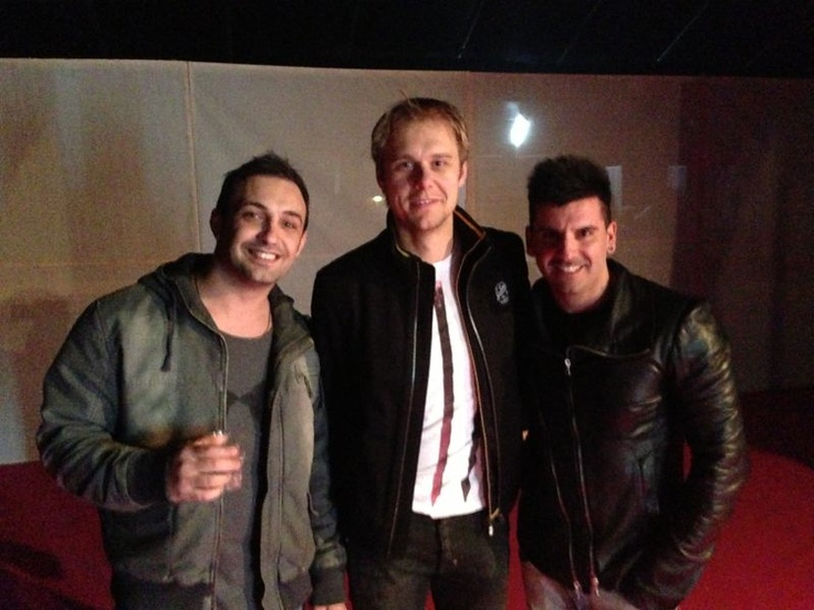 Armin van Buuren with Tenishia in Malta.