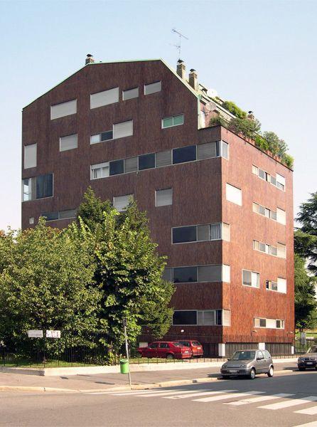 Complesso per abitazioni in Piazza Carbonari, 1961, Milano