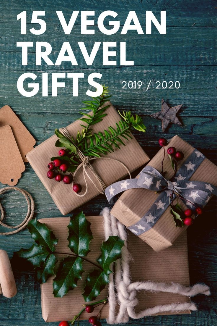 15 Vegan Presents For Travelers Vegan Gifts For Her Vegan Gifts For Him Travel Gifts Best Travel Gifts Unique Travel Gifts