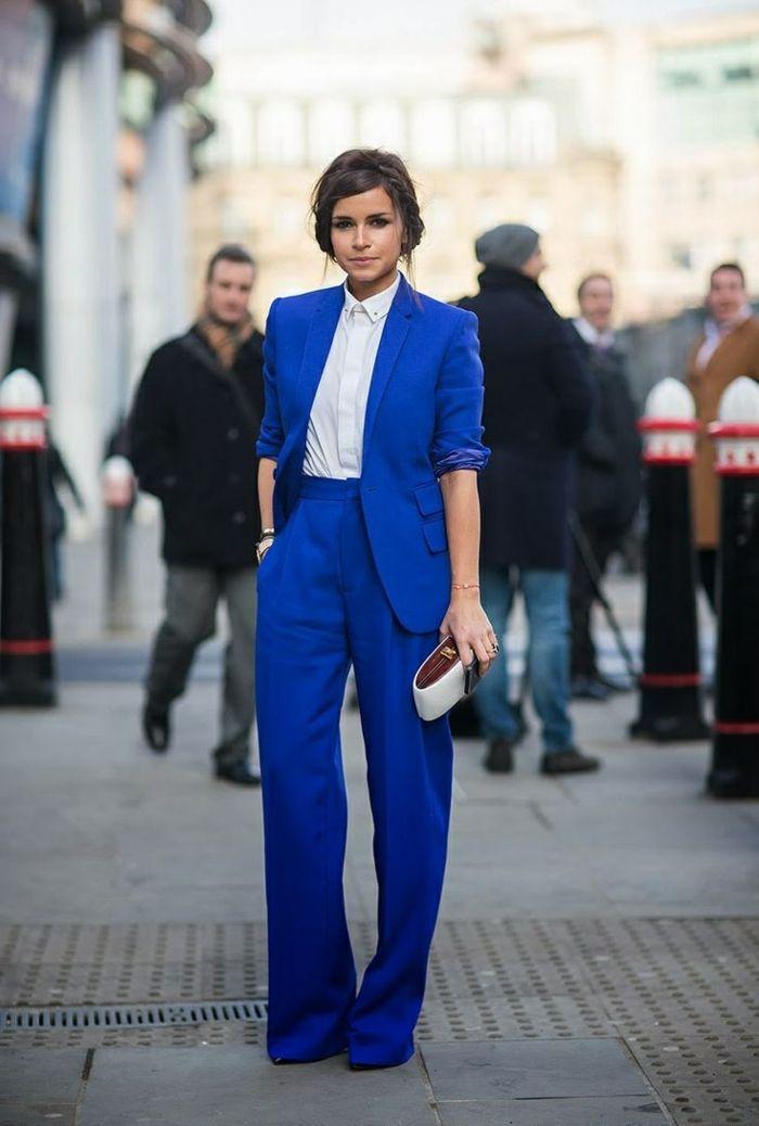 Idée tenue chic femme tailleur pantalon femme ceremonie idée vêtement
