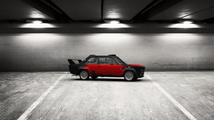 Checkout my tuning #Fiat 131Abarth 1976 at 3DTuning #3dtuning #tuning