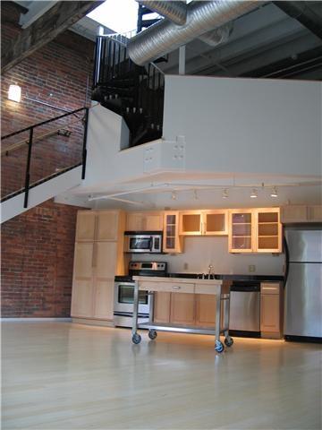 Church Street Lofts: Open Floor, Brick Wall, Brick Photo Very, Interiors Brick
