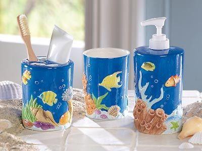 Find This Pin And More On Bathroom Tropical Fish