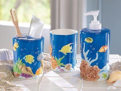 Tropical Fish Bathroom Accessories