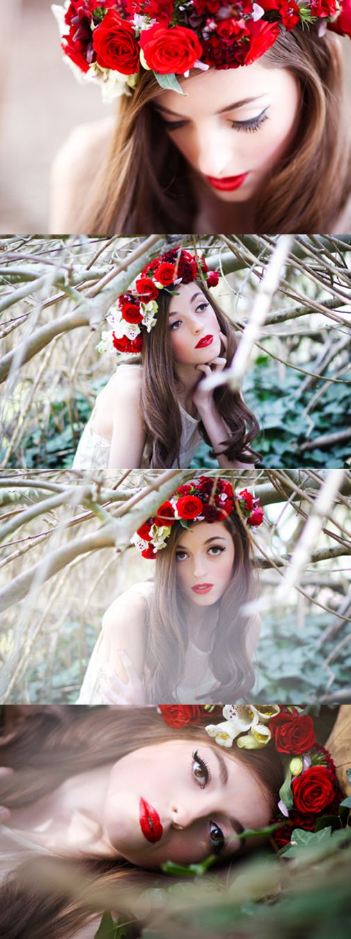 Featured Photographer|Evoking You. Love the contrast of the vibrant red with the white toned down background.