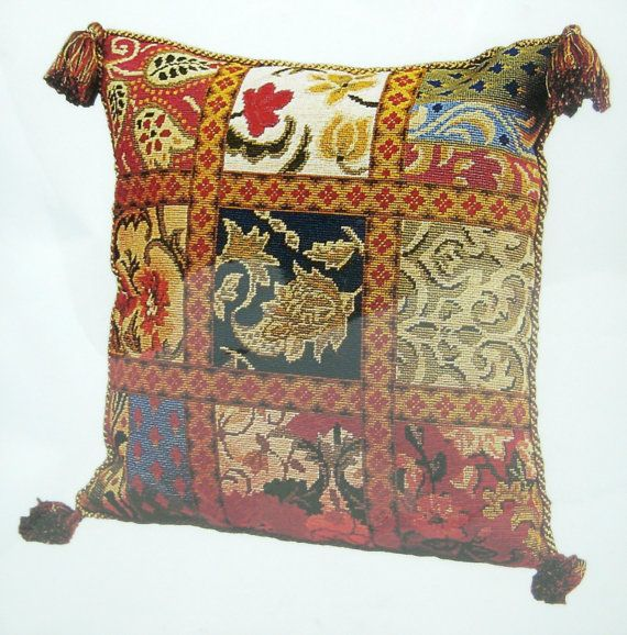 Needlepoint KIT Florence Cushion Anchor Tapestry Pillow