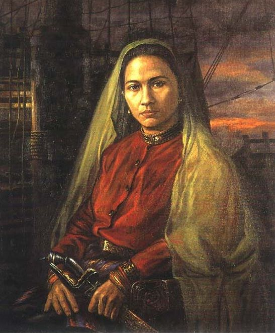 "Keumalahayati (1585-1604) was an admiral in the navy of the Aceh Sultanate. She was the first woman admiral in the modern world (if Artemisia I is not included). Her troops were drawn from Aceh's widows and the army named the ""Inong Balee"", after the Inong Balee Fortress near the city of Banda Aceh. She was a daughter of Admiral Machmud Syah of (Aceh Empire). After graduating from Pesantren, an Islamic school, and at Aceh Royal Military Academy, known as Ma'had Baitul Maqdis."